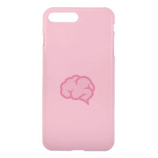 Rosa Gehirn iPhone 8 Plus/7 Plus Hülle