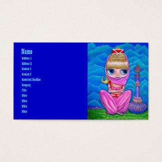 Rosa Geister und ihre magische Flasche Visitenkarte