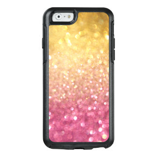 Rosa gelbes GoldGlitter Otterbox iPhone 6/6s OtterBox iPhone 6/6s Hülle