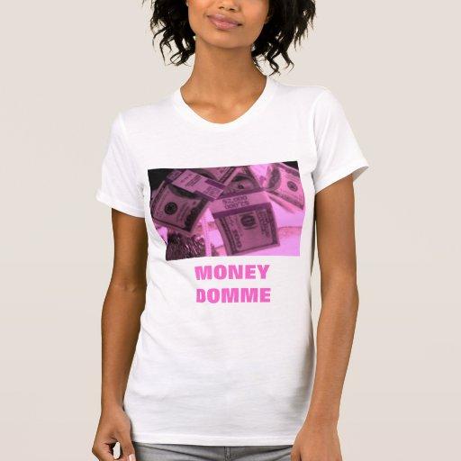 ROSA GELD DOMME T SHIRT