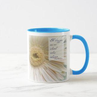 Rosa Gerbera-Begeisterungs-Kaffeetasse Tasse