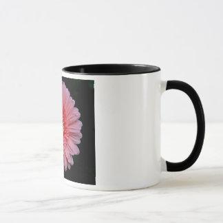 Rosa Gerbera-Blumen-Tasse Tasse