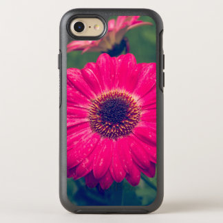 Rosa Gerbera-Gänseblümchen in der Blüte OtterBox Symmetry iPhone 8/7 Hülle