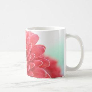 Rosa Gerbera Kaffeetasse