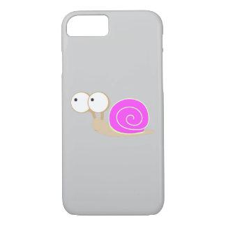Rosa geschälte Schnecke iPhone 7 Hülle