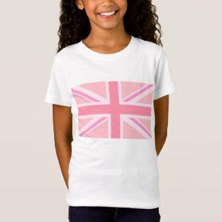 Rosa Gewerkschafts-Jack/Flagge T-Shirt