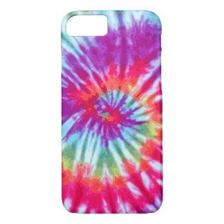 Rosa gewundener gefärbte Krawatte iPhone 7 Fall iPhone 8/7 Hülle