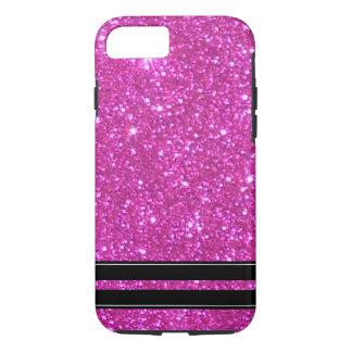 Rosa Glitter-funkelnd Schein Girly CricketDiane iPhone 8/7 Hülle