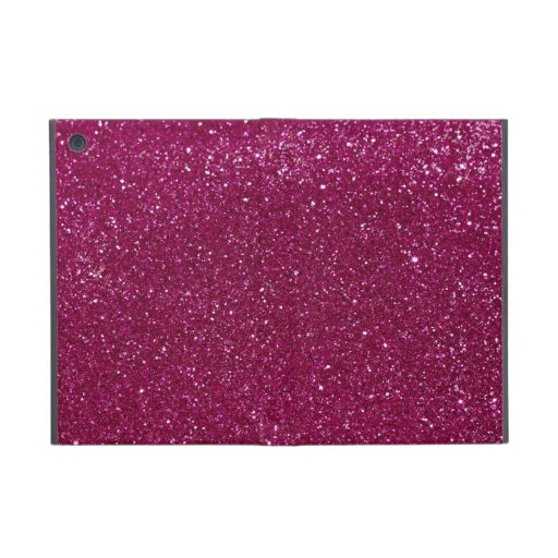 Rosa Glitter-Glitzern iPad Mini Schutzhülle