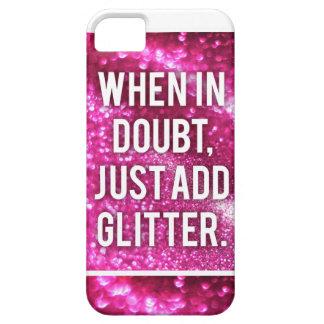 Rosa Glitter iPhone Fall Etui Fürs iPhone 5