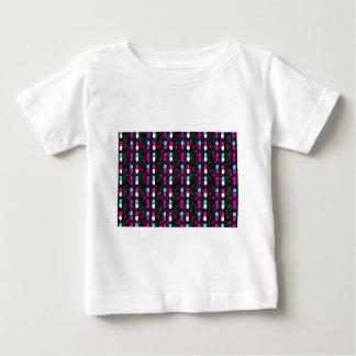 rosa Glitterpillen Baby T-shirt