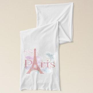 Rosa Glitzer-Eiffel-Turm Paris Schal