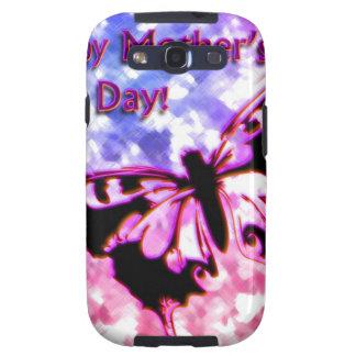 Rosa glücklicher Entwurf der Mutter Tages Samsung Galaxy S3 Schutzhülle