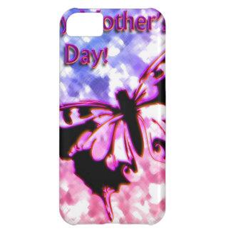 Rosa glücklicher Entwurf der Mutter Tages iPhone 5C Hülle