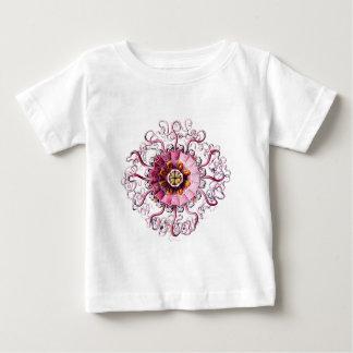 rosa grüne Punkte des Gelees w klären copy.png Baby T-shirt
