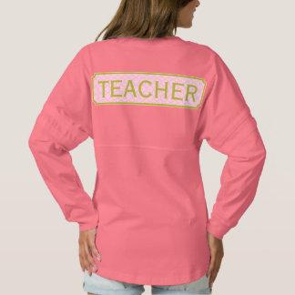 Rosa + Grüner Lehrer Monogramm-Apples Quatrefoil