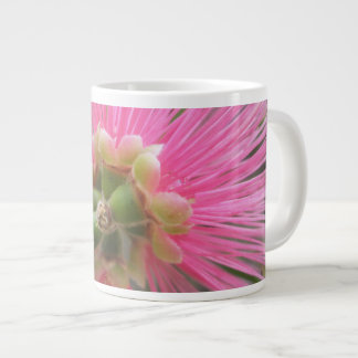 Rosa Gummi-Baum-Blume Jumbo-Tasse