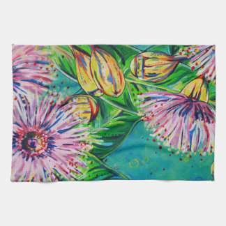 Rosa Gummi-Geschirrtuch Handtuch