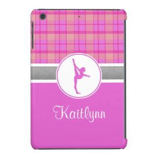 Rosa Gymnastik-Schatz kariertes iPad Minifall iPad Mini Hülle