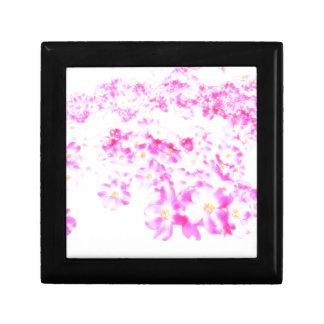 Rosa Hartriegel-Blüte Geschenkbox
