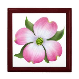 Rosa Hartriegel-Blüten-Geschenkboxen Geschenkbox
