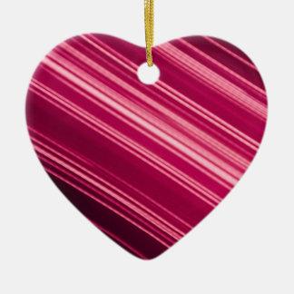 Rosa helle Streifen in der Diagonale Keramik Ornament