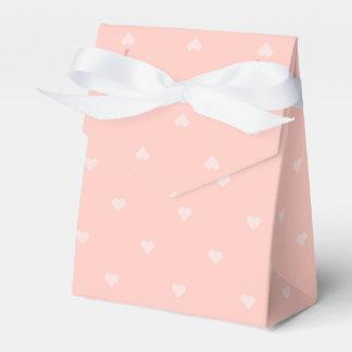 Rosa Herz-Geschenkboxen Geschenkkartons