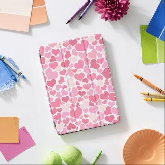 Rosa Herz-Muster - iPad Abdeckung iPad Air Hülle