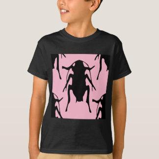 Rosa Hinterwellen T-Shirt