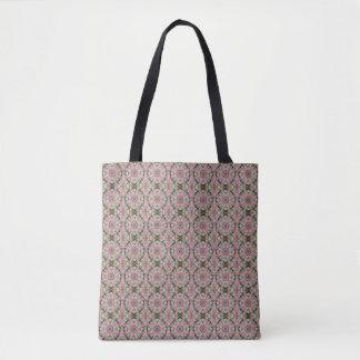 Rosa Hochzeits-Steppdecke(multi Druck) Tasche