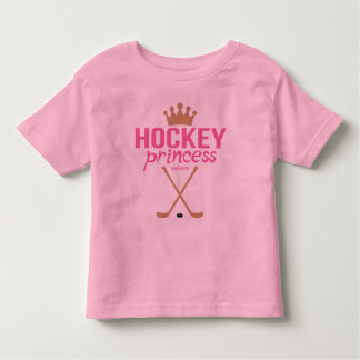 Rosa Hockey-Prinzessin Toddler Kleinkind T-shirt