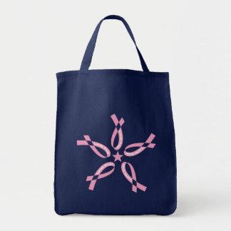 Rosa Hoffnung Einkaufstasche