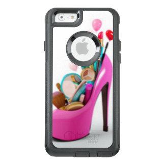 Rosa hoher Absatz u. Cosemetic OtterBox iPhone 6/6s Hülle