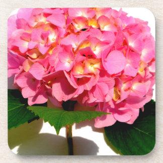 Rosa Hydrangea Untersetzer