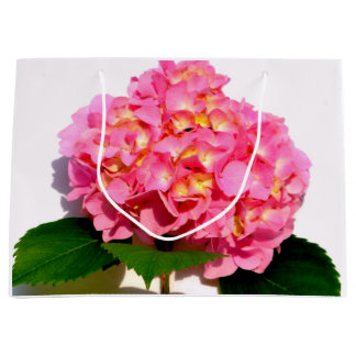 Rosa Hydrangeas Große Geschenktüte