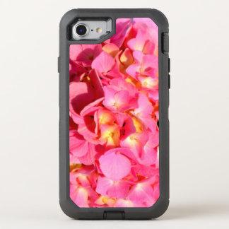 Rosa Hydrangeas OtterBox Defender iPhone 8/7 Hülle