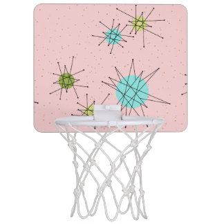 Rosa Iconic AtomSternexplosion-Minibasketball-Band Mini Basketball Ring