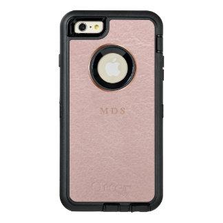 Rosa Imitat-erröten ledernes Effekt iPhone 6s plus OtterBox iPhone 6/6s Plus Hülle