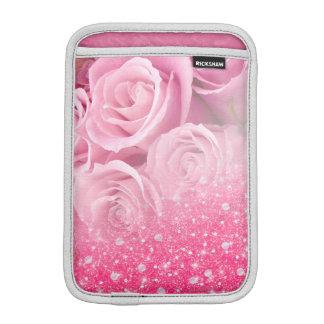 Rosa Imitat-funkelnd Glitter-Rose für Frauen und iPad Mini Sleeve