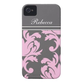Rosa iPhone 4 Monogramm-Hüllen Case-Mate iPhone 4 Hüllen