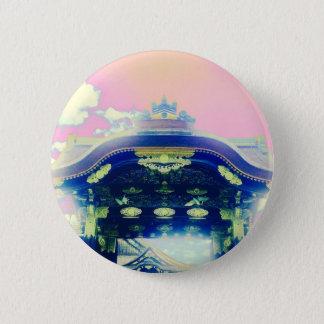 Rosa japanische Schloss-Reihe Runder Button 5,1 Cm