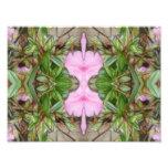 Rosa Kaleidoskop 2 der Azaleen 1E Photodruck