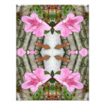 Rosa Kaleidoskop 5 der Azaleen 1E Fotografische Drucke