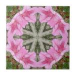 Rosa Kaleidoskop 8 der Azaleen 1E Kacheln