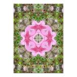 Rosa Kaleidoskop 9 der Azaleen 1E 12,7 X 17,8 Cm Einladungskarte