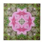 Rosa Kaleidoskop 9 der Azaleen 1E Fliesen