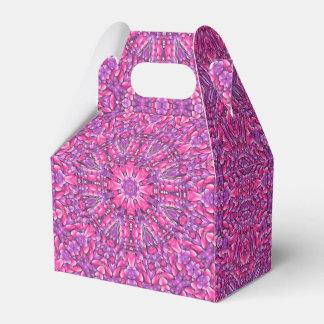 Rosa Kaleidoskop-Giebel-Bevorzugungs-Kasten n lila Geschenkschachtel