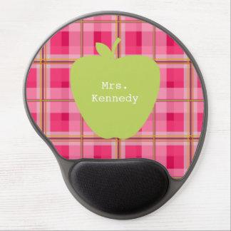 Rosa karierter grüner Apple-Lehrer