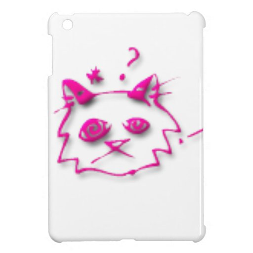 Rosa Katze iPad Mini Schutzhülle