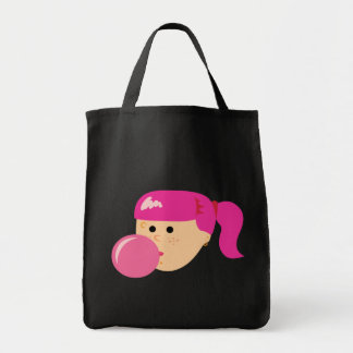 Rosa Kaugummi-Mädchen-Taschen-Tasche Tragetasche